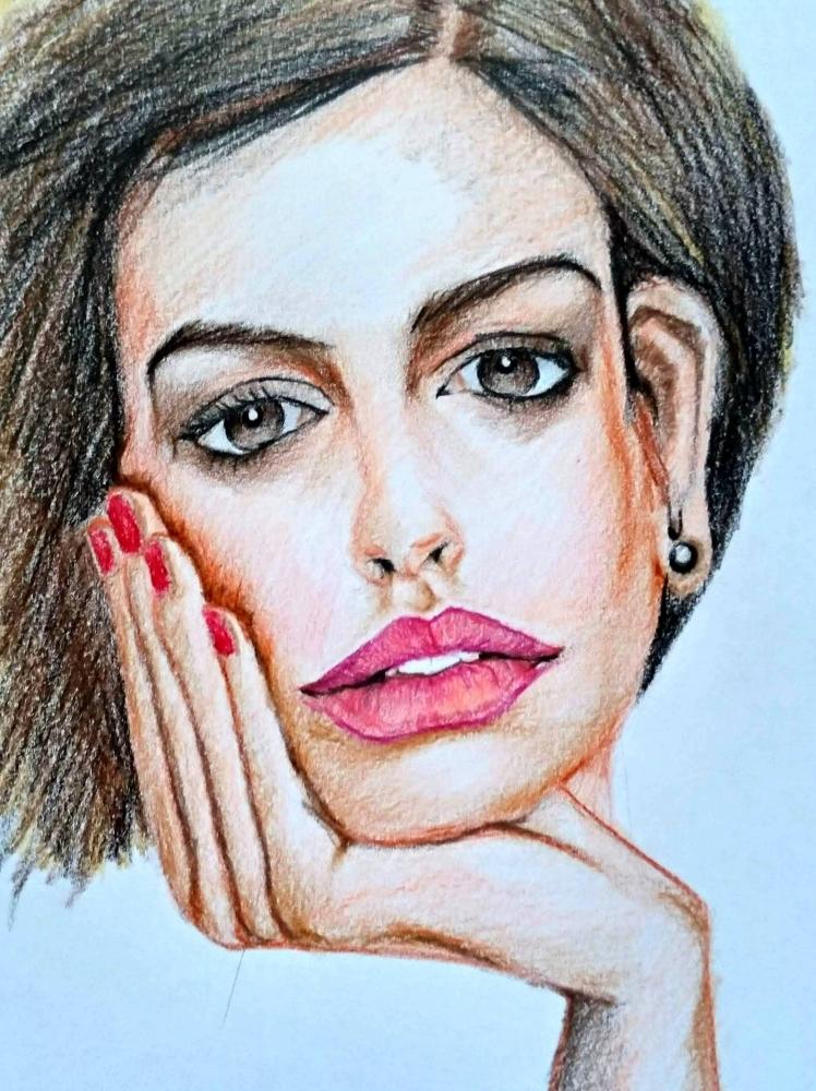 Anne Hathaway por linshyhchyang